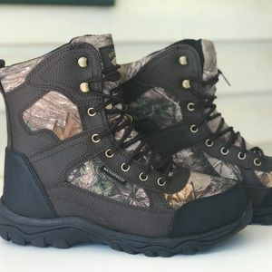 "98224446eac Herman Survivors Men's 8"" Hunting Camo Boots Shoes NWT"